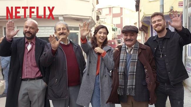 50 Metrekare (2020) Netflix yeni dizi Aybüke Pusat Engin Öztürk