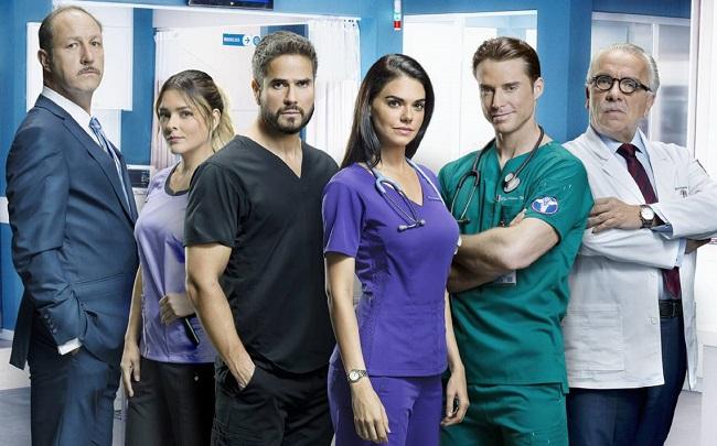 Mexican series: Médicos (2019)