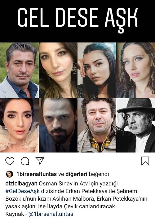 New Turkish series Gel Dese Aşk 2020