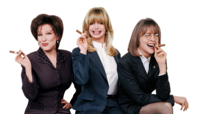 The first wives Club Goldie Hawn, Diane Keaton, Bette Midler Reunite
