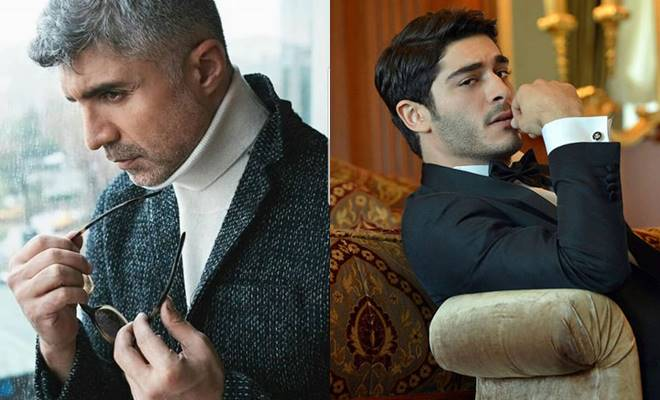 Upcoming Turkish Series Burak Deniz and Ozcan Deniz in King